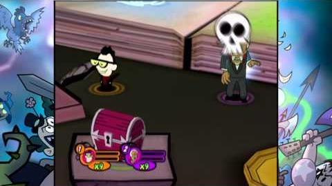 The Grim Adventures of Billy & Mandy Wii-Nergal Jr