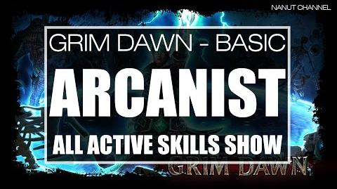 Arcanist All Active Skills