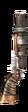 Tarnished Shotgun Icon