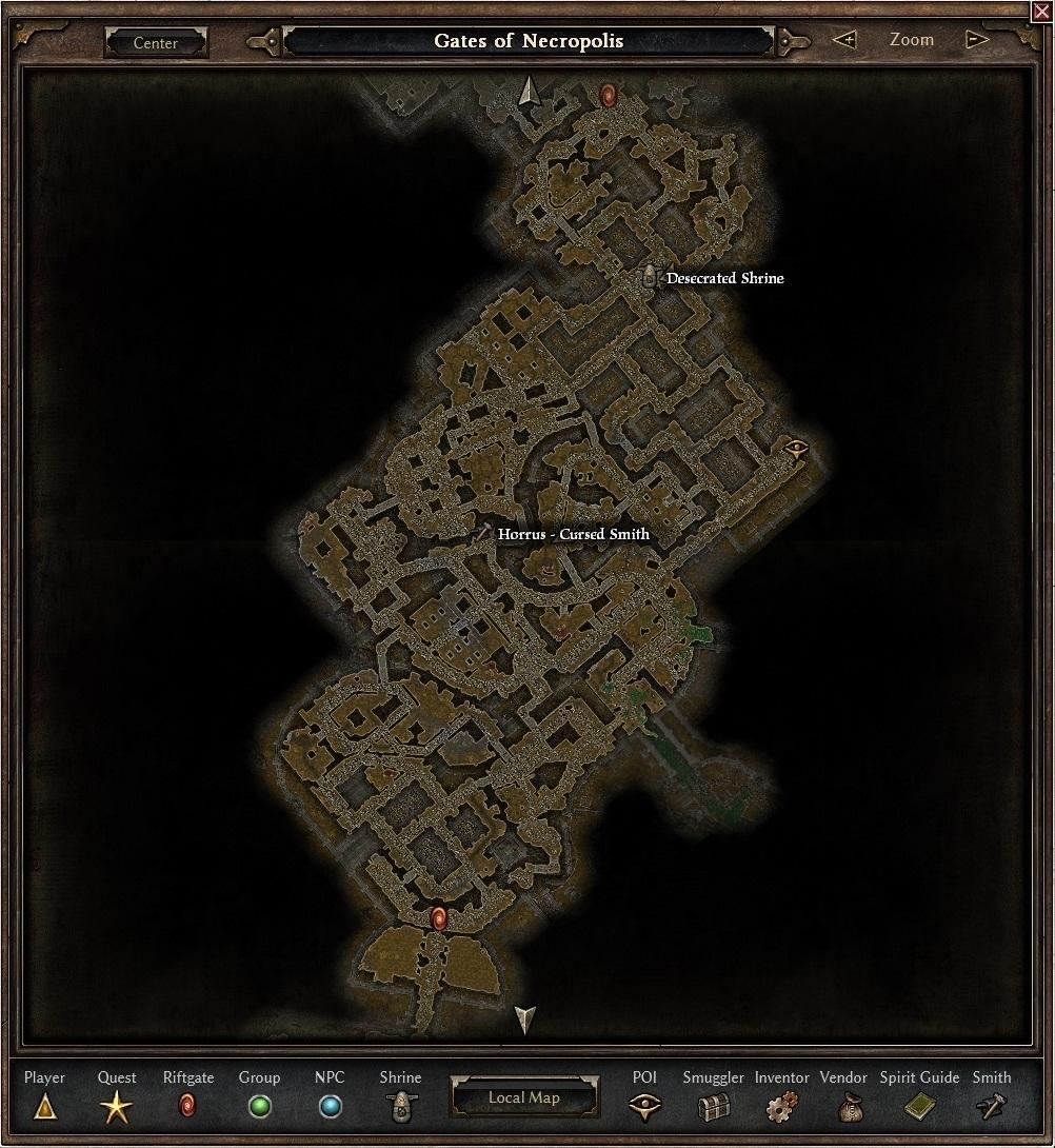 Gates Of Necropolis Map