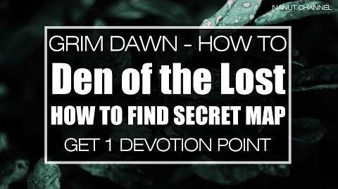 Den of the Lost Guide and Location