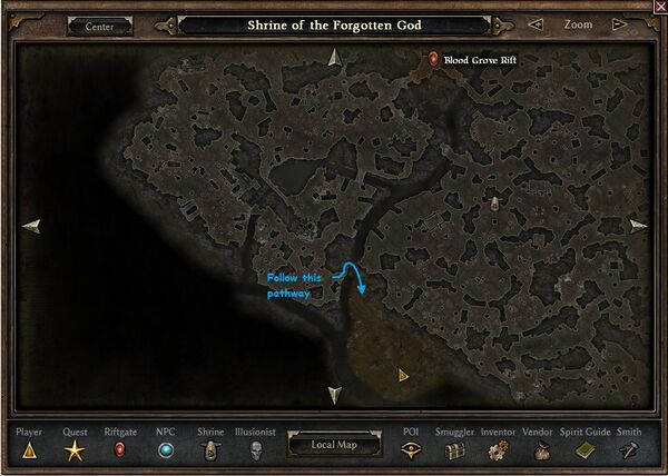 Shrine of the Forgotten God | Grim Dawn Wiki | FANDOM