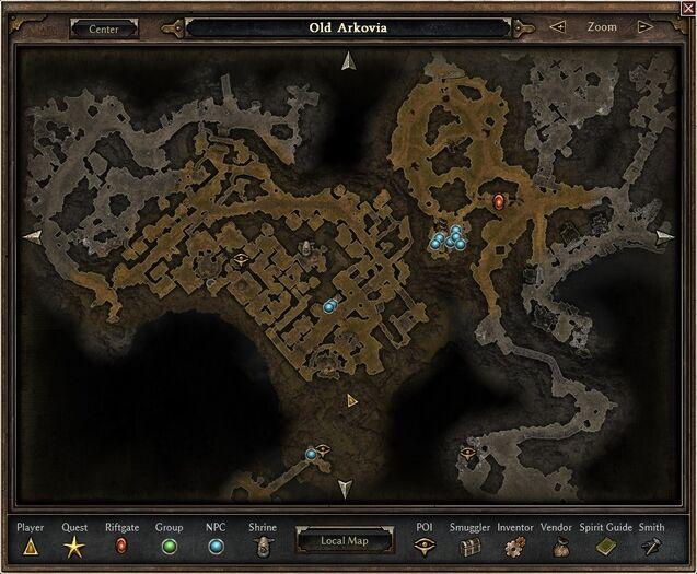 Grim dawn amkala quest
