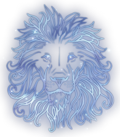 Lion Constellation Icon