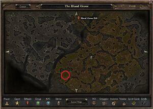 Dravis Letter 1 Map