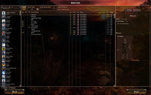 Grim Dawn Server Browser