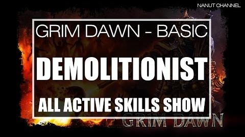 Demolitionist All Active Skills