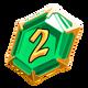 Rank 02 emerald