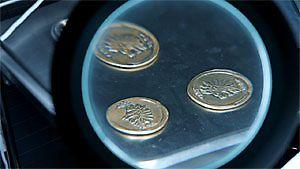 Drei Münzen
