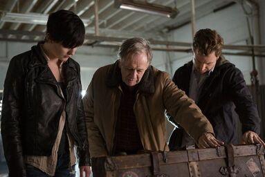 Josh und Rolek Porter mit Trubel