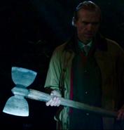 414-Peter shines flashlight on Labrys