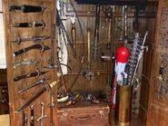 Season 4 Weapons Cabinet