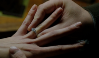 312-Monroe and Rosalee engaged