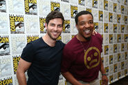 David and Russell 2015 Comic-Con