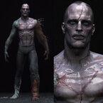 Frankenstein Wesen Concept Art