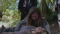 Lily forêt maman morte 5x03