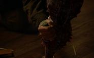 311-Desai stabs Jim's tail
