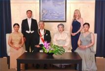 Japanese Royal Family with Mia
