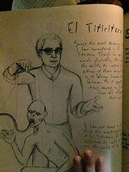 Norberto Barba's Grimm Diary Entry