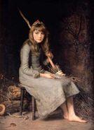 Aschenputtel John Everett -Millais 1881
