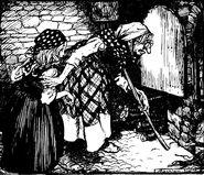 Haensel und Gretel Rackham 1909 4