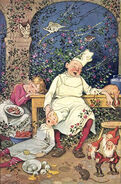Dornroeschen Fritz Baumgarten Postkarte