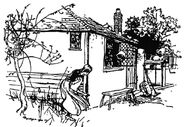 Frau Holle Rackham 1909 1