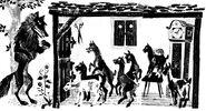 Wolf und die sieben Nikolaus Plump