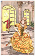 Aschenputtel unbekannt postkarte 2