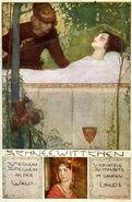 Schneewittchen Erich Schuetz Postkarte