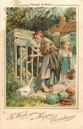 Haensel und Gretel weihnachtskarte