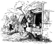 Wolf und die sieben Ludwig Richter