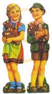 Haensel und Gretel Lackbilder 2