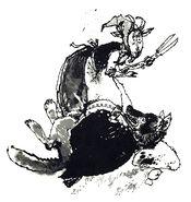 Wolf und sieben Victor Ambrus 1