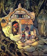 Haensel und Gretel Anton Pieck