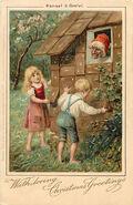 Haensel und Gretel 1 weihnachtskarte