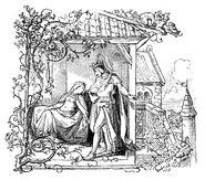 Dornroeschen Ludwig Richter Kuenstlerkarte