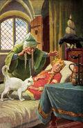 Dornroeschen Otto Kubel Postkarte 03