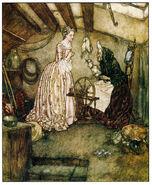 Dornroeschen Edmund Dulac 1910