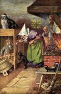 Haensel und Gretel Otto Kubel Postkarte 04