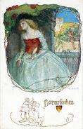 Dornroeschen E Schuetz Postkarte