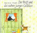 Der Wolf und die sieben jungen Geißlein (Bernadette Watts)