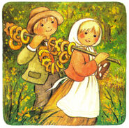 Haensel und Gretel Isa Salomon Bummi 12 1987