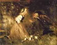 Schneewitchen Victor Mueller um 1867