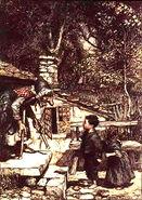 Haensel und Gretel Rackham 1909 2