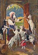 Wolf und die sieben Curt Liebich 1