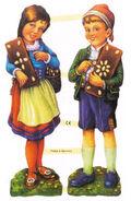 Haensel und Gretel Lackbilder 3