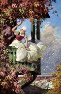 Frau Holle Otto Kubel Postkarte 03