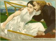 Schneewittchen Victor Thomas Postkarte
