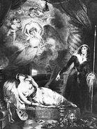 Dornroeschen Frederick Bacon nach-einem-Gemälde-von-John-Wood 1837